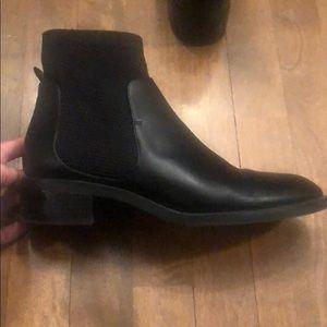 ZARA black booties 40